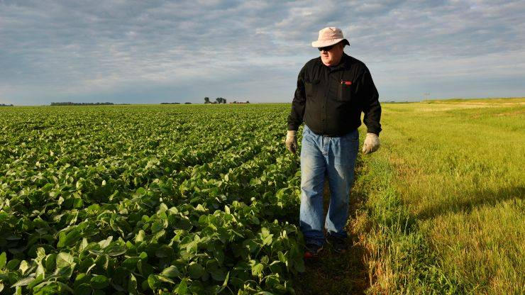 US Farmers Select Save Soy Harvest